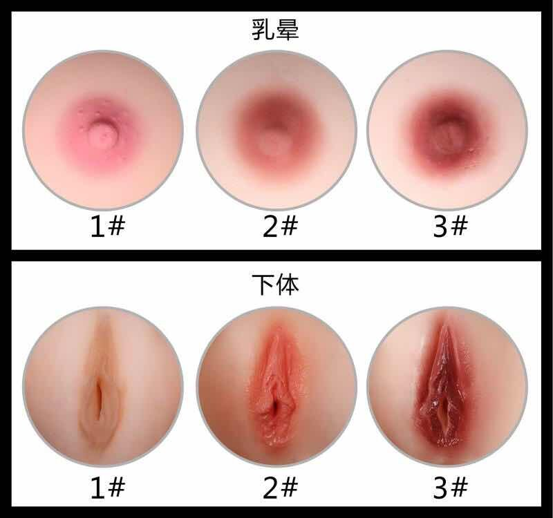 Areola and vaginal color