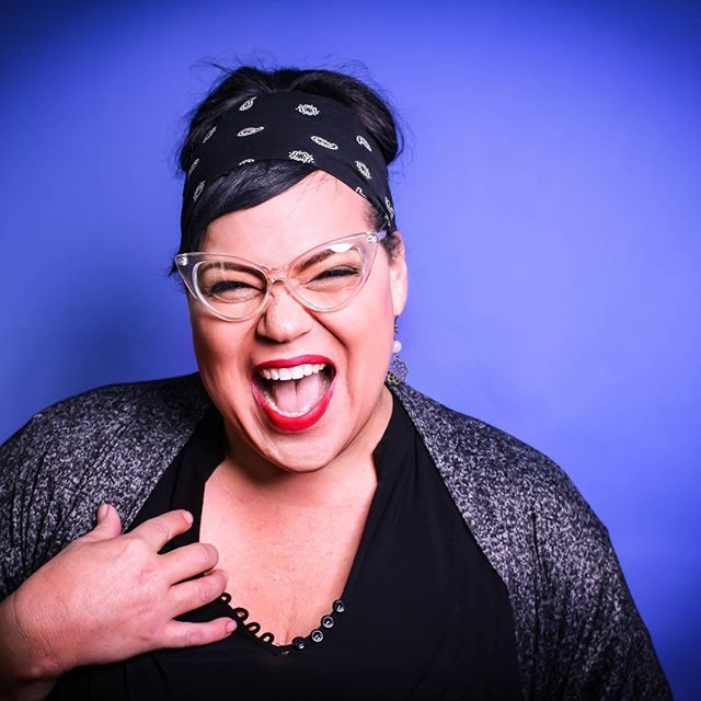 "3 DAYS 3 DAYS 3 DAYS!! Until The Art As Activism Panel😁🔥💕 Meet Panelist Dina Martinez! Late Late Show's James Corden calls her ""...very funny""! She is a transgender standup comedian, actor and speaker, founder of and High Priestess of Lady Laughs Comedy Festival/School/Tour/Collective. She has a signature blend of disarming sass & charm that has been featured in comedy festivals and multiple world-class comedy venues around the country. A Huff Post blogger, she was named one of the ""40 Hot Queer Women In Comedy"" by AfterEllen.com, and won Madison's favorite Local Comedian.  We cannot wait to hear her hilarious contributions to our panel!"