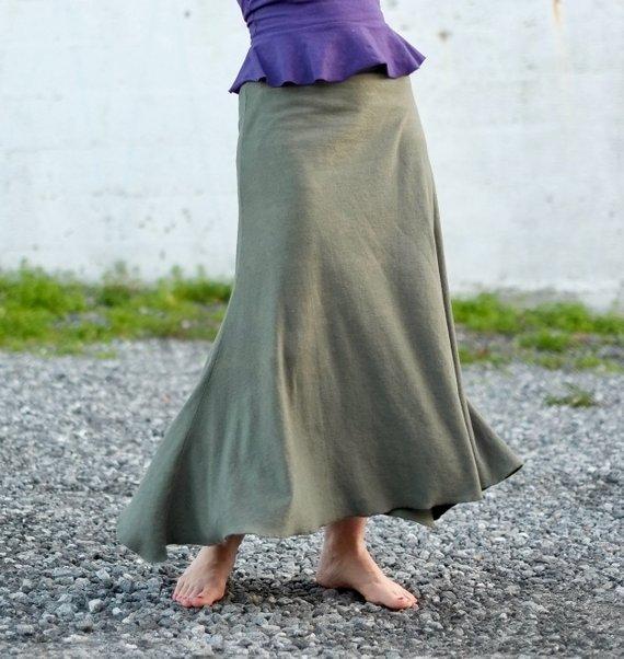 Surya Leela Hemp Organic Avion Skirt