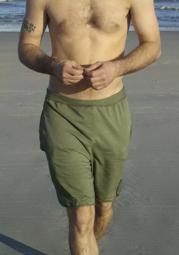 Men's Drawstring Shorts with Pockets