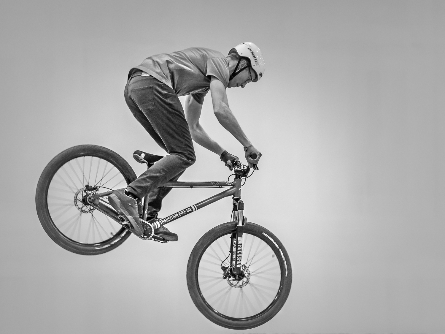 The Bicyclist In The Air