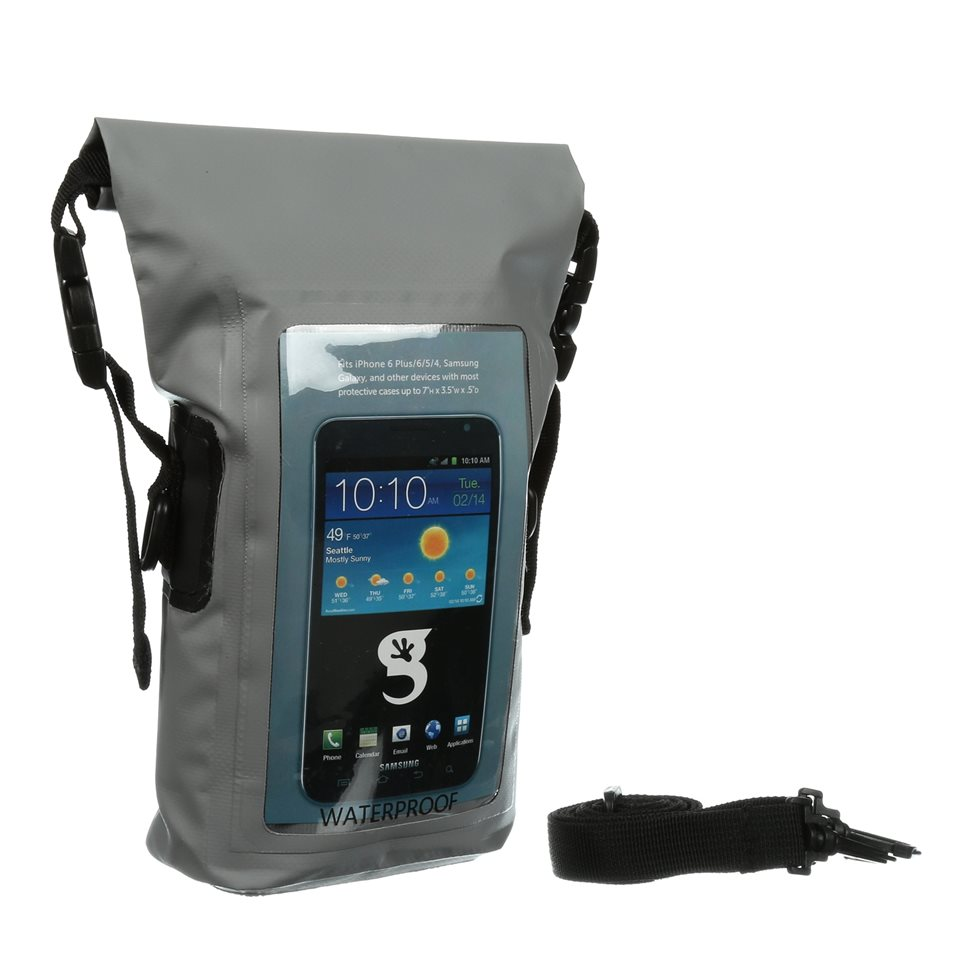 GeckoBrands Waterproof Dry Bag ($24.99)