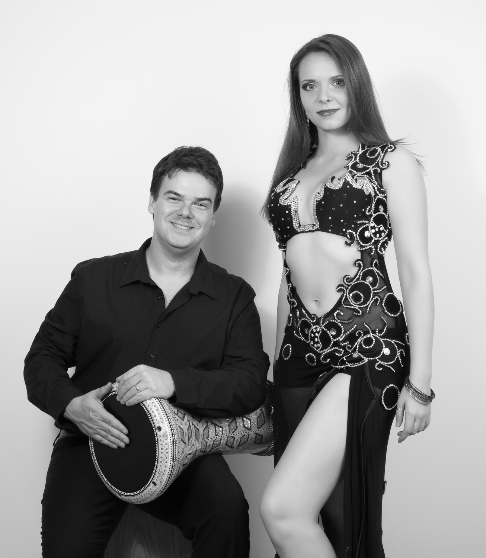 Drummer Pedro Bonatto & Dancer Iana Komarnytska
