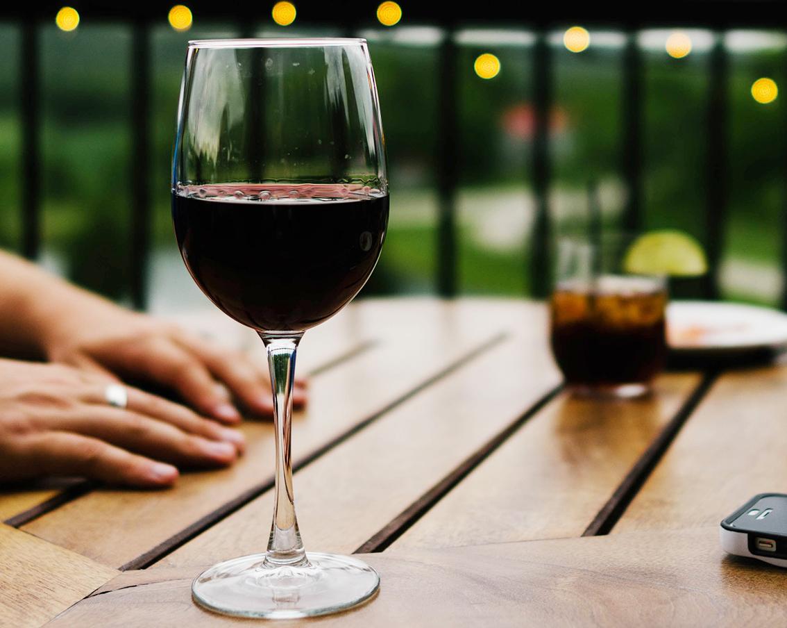 Investing in wine.