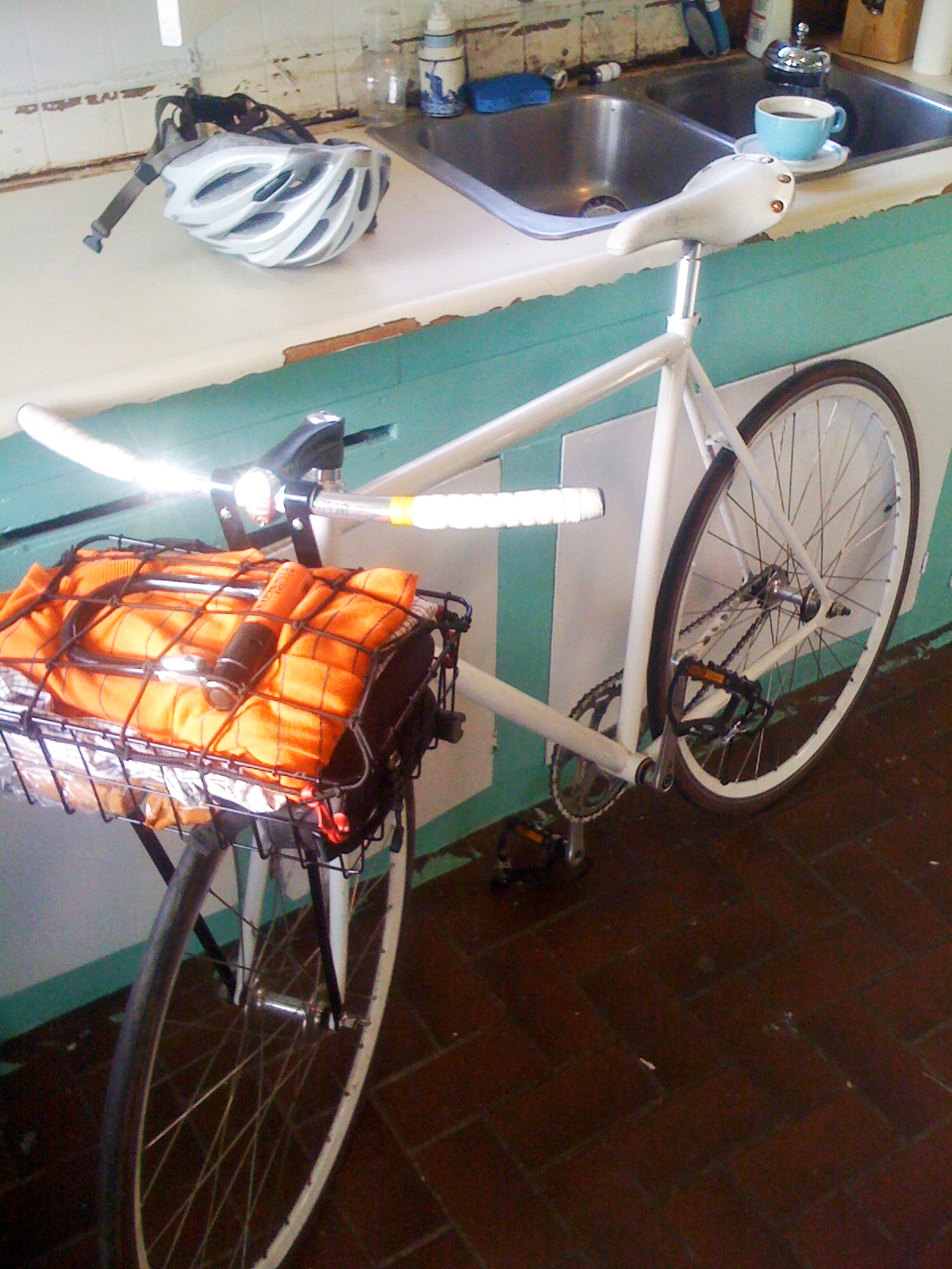 The white bicycle - Nathaniel Barber Blog