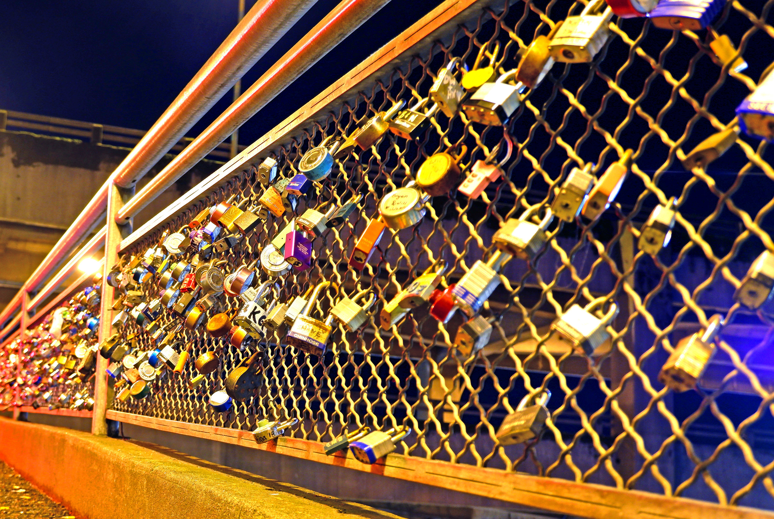 Seattle Love Locks - Nathaniel Barber Blog