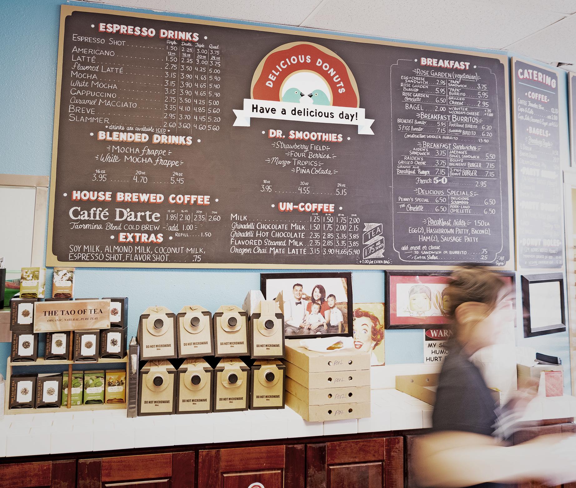 Delicious Donuts - Portland, Oregon - Nathaniel Barber Blog