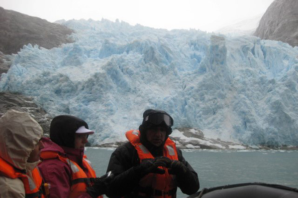 Up close and personal with a glacier in Patagonia.jpg