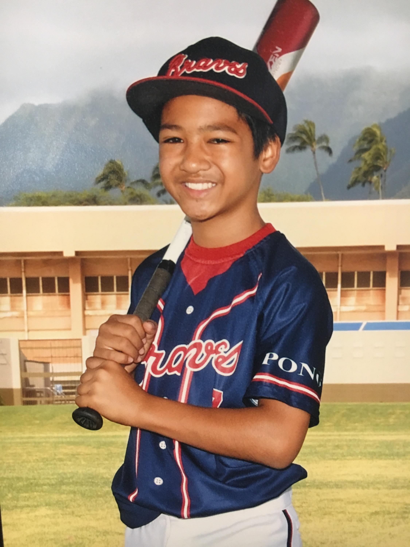Bronco League, Pono Braves, Player, Keegan Gantala (2017)