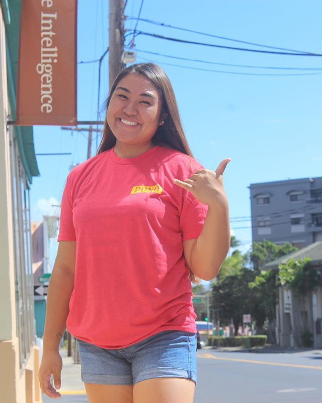 SHAKA SUNDAY • • and the countdown begins... 5 days till our GRAND OPENING. We can't wait! Get this shirt and your other Pono Gear this friday! Located between Native Intelligence and Friends & Faire. Hope to see you there! • • Shirt also available in Pink.