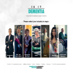 A resource for recognising the signs of Dementia in the community.