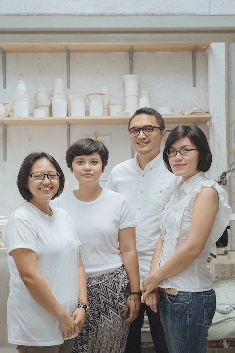 Kandura Studio | From left: Nuri, Ghia, Fauzy & TIsa