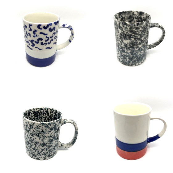 Handmade mugs for your everyday use with an affordable price