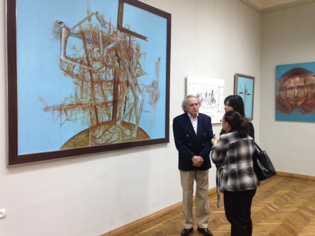 Wystawa w Narodowej Galerii Armenii, Erywań FOTO: MELINE YEGHOYAN