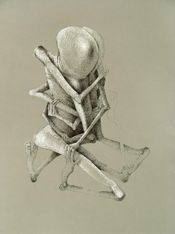 """Z cyklu """"Ludzkie zabawy"""", 1983"""