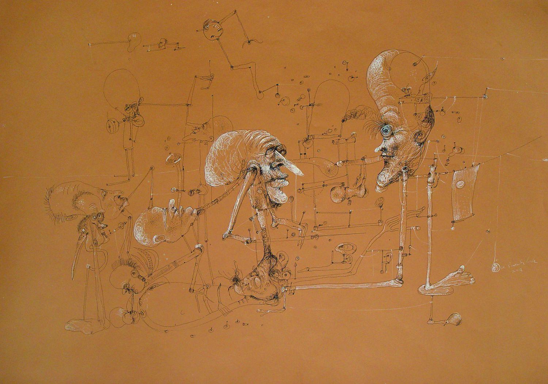 """Z cyklu """"Zabawy ludzkie"""", 1983"""