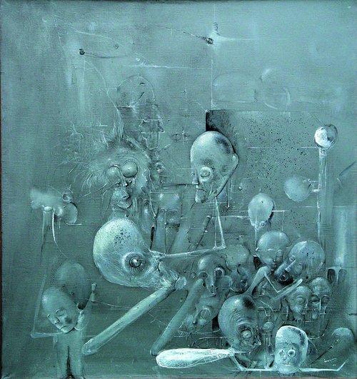 Grey Composition, 1999