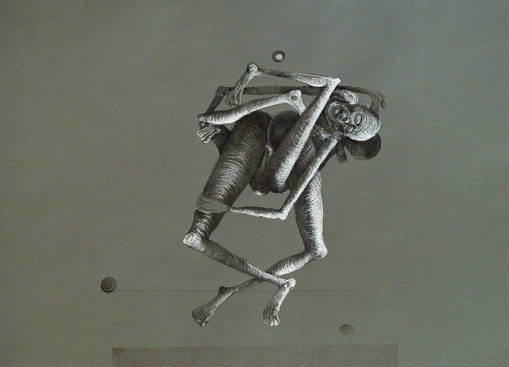 """Z cyklu """"Ludzkie zabawy"""", 2003"""
