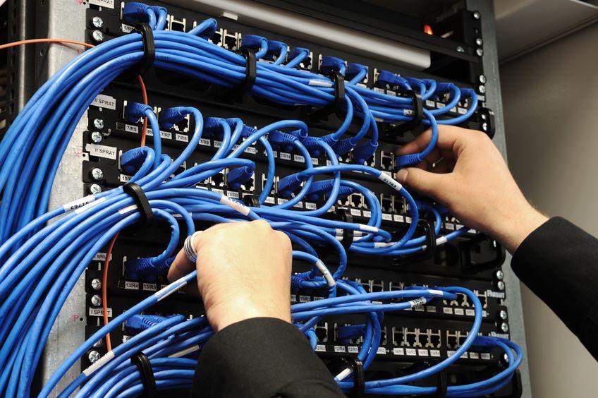 Installation réseau informatique... -