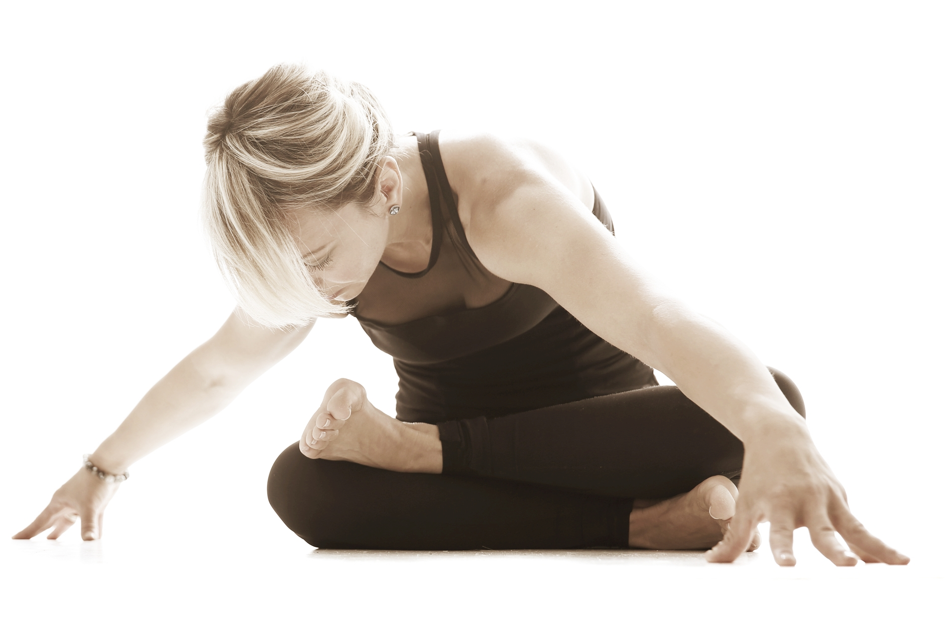 Yoga connects the mind with the body and teaches us to relax and be in control of our physiological reactions to stress.