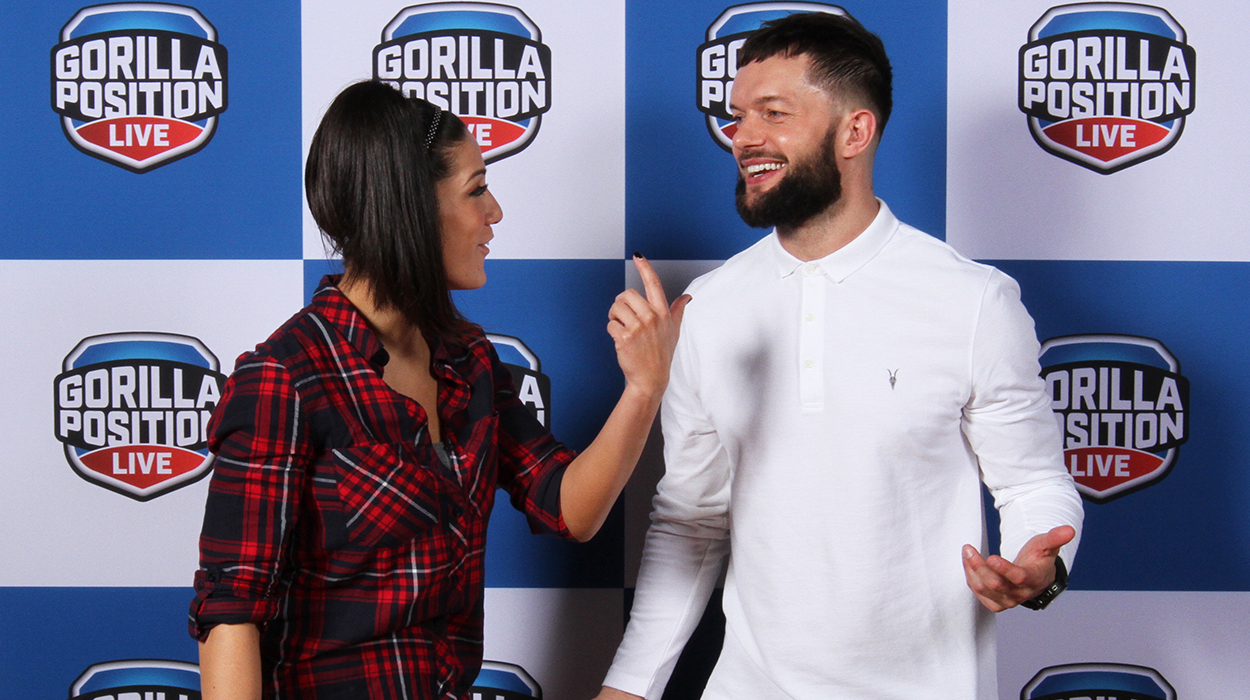 GORILLA POSITION   Weekly WWE radio show and podcast + live event specials