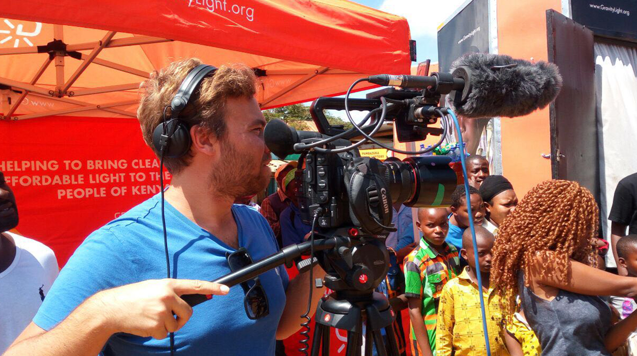 Filming took place in Kenya over 50 nights and we traveled 5,000 miles