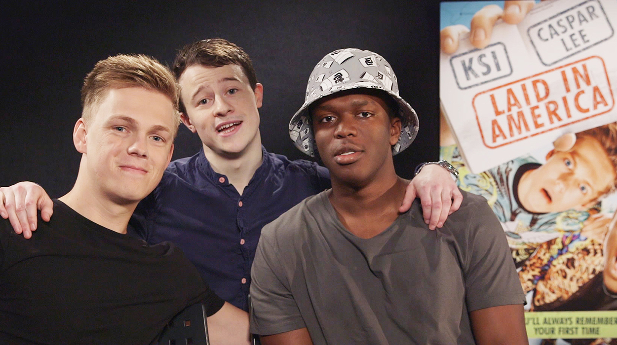 Seán Burke meets Caspar Lee and KSI for his latest Channel 4 adventure