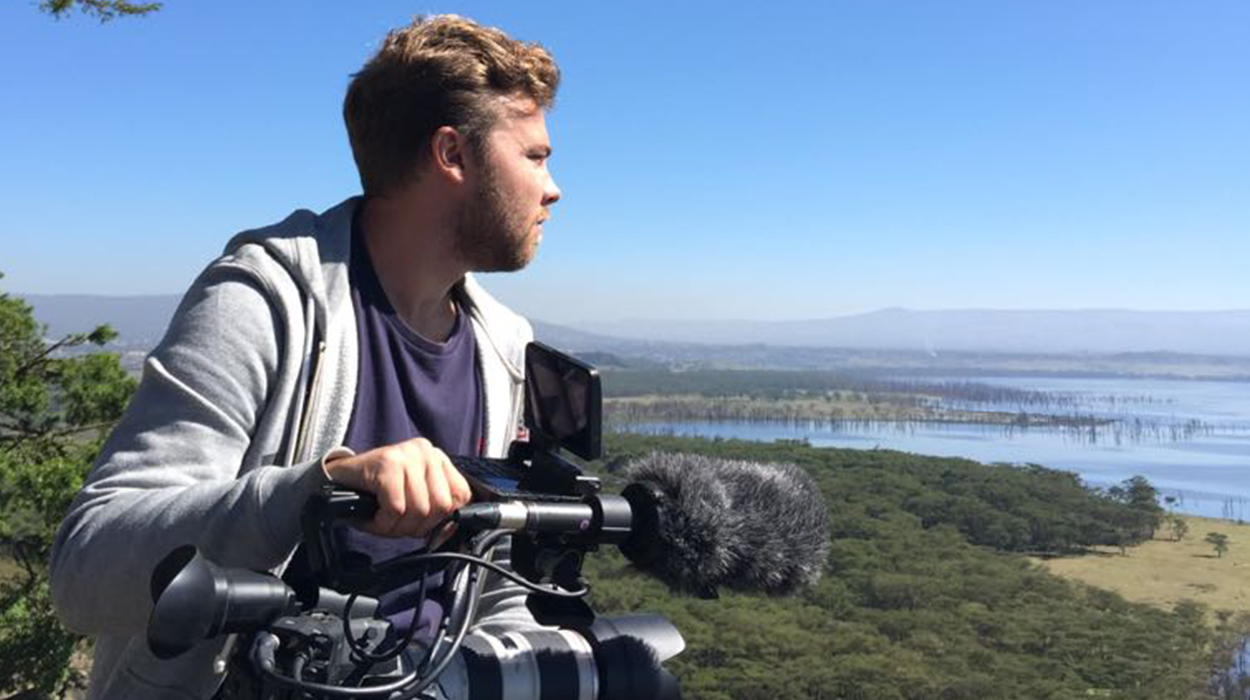 Have camera, will travel. That's the motto of Sam Morter, one of Starstruck's DoPs