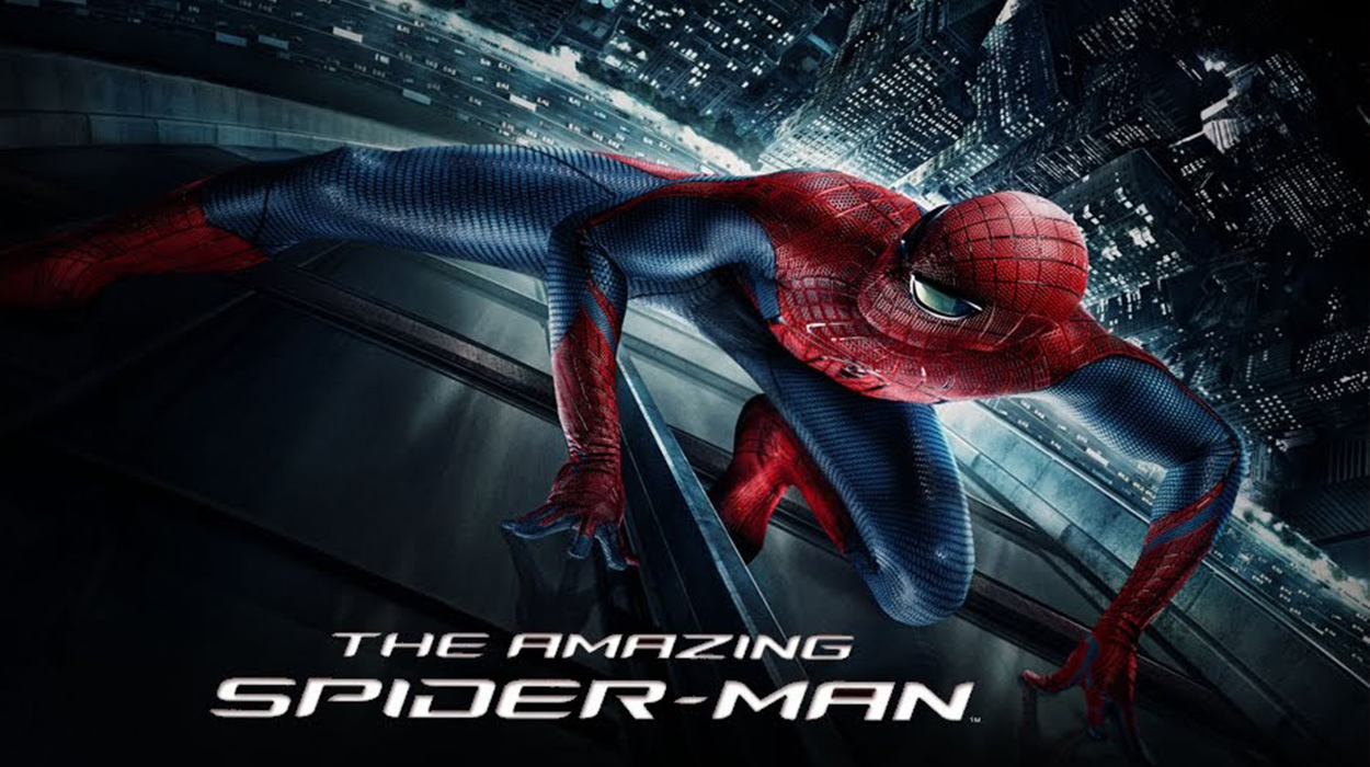 Who's the man inside the Spidey suit? Andrew Garfield steps up as the lycra-clad crime fighter