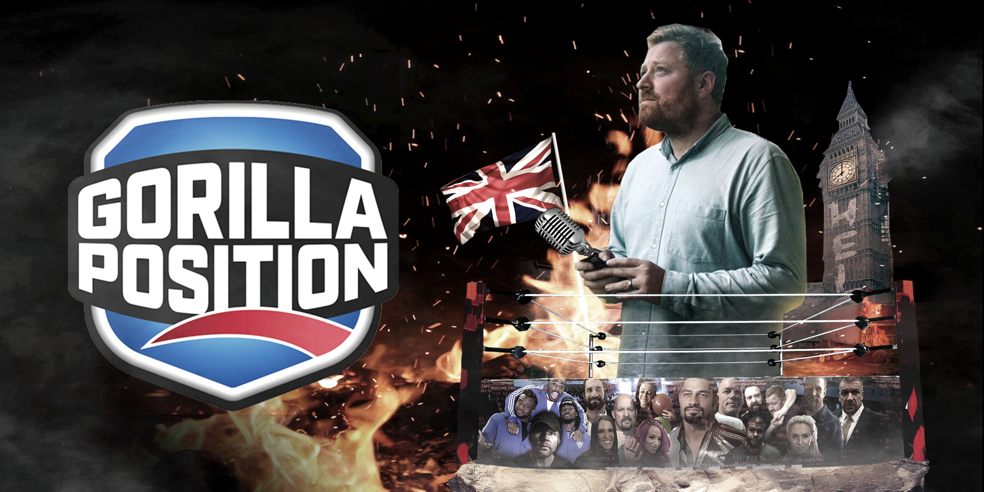 Host of Gorilla Position, James Delow returns to the WWE Gorilla Position mic for another season