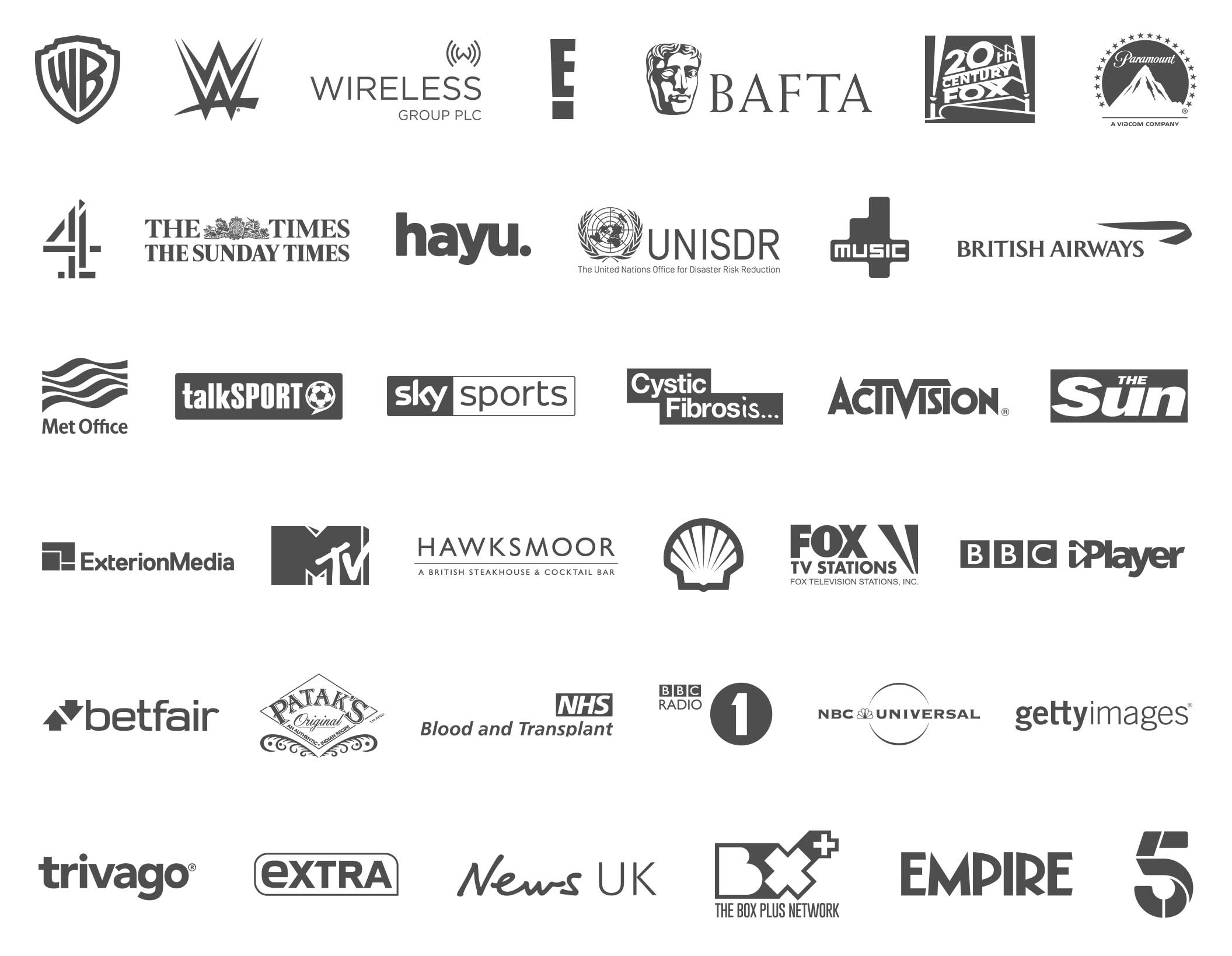 Join some of the world's top brands who trust Starstruck to produce some incredible creative