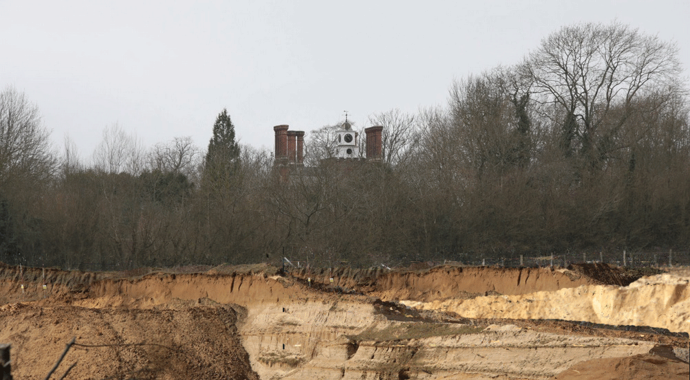 potential impact on Ightham Court's setting