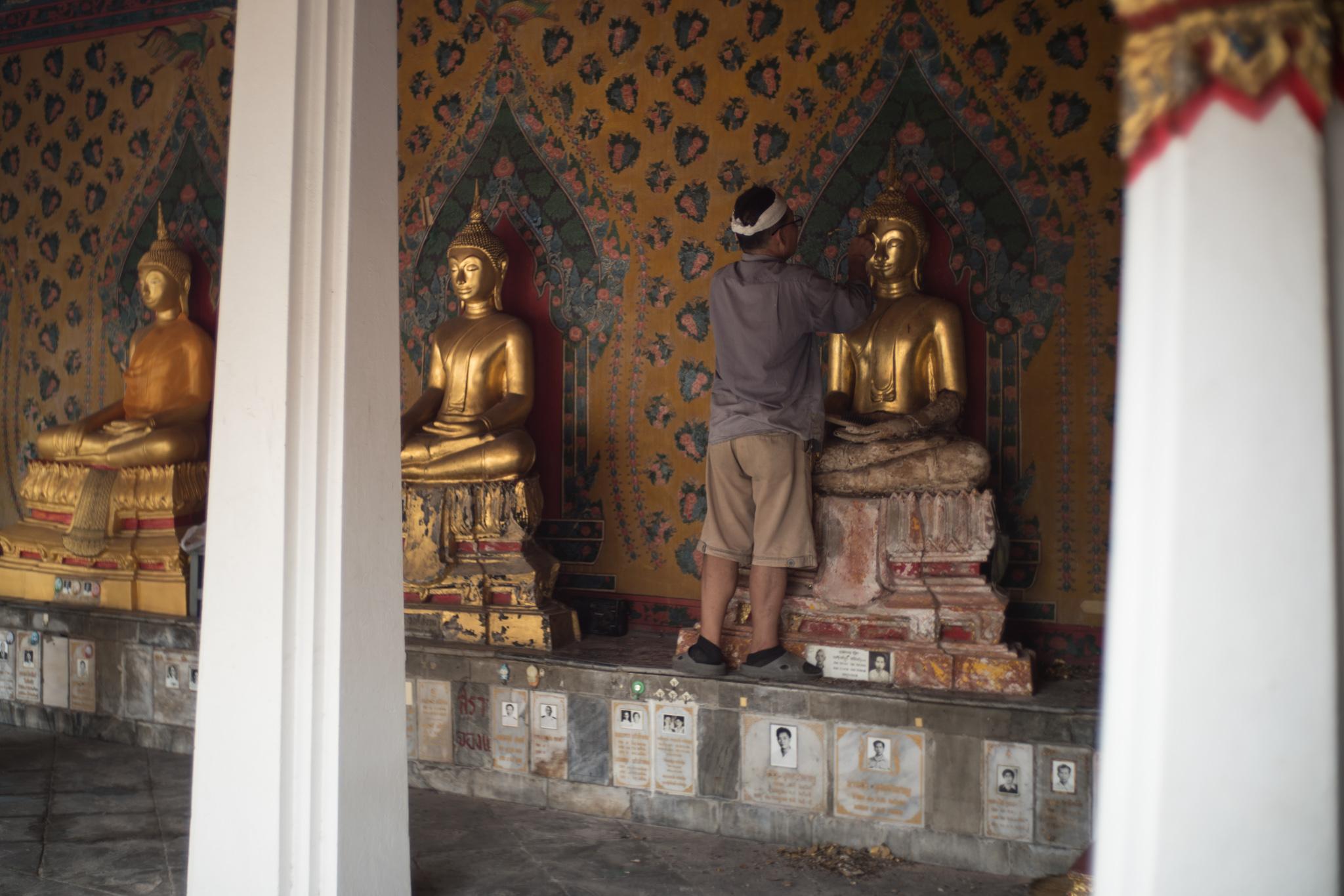 August 2016, Wat Arun Complex, Bangkok (กรุงเทพมหานคร), Kingdom of Thailand (ราชอาณาจักรไทย).