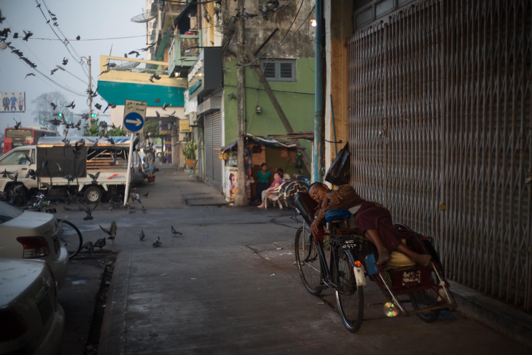 February 2016, Yangon (ရန်ကုန်), Myanmar (formerly Burma) (ပြည်ထောင်စုသမ္မတ မြန်မာနိုင်ငံတော်).