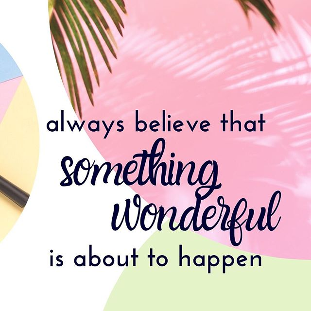 Hell yes, something wonderful is about to happen 😍 it is Friday, after all! • If you're finding it hard not to focus on that one rocky month or that tough moment, we've all been there. • Focus on the positives and believe that the best and most wonderful things are yet to come 💕 • HAPPY FRIDAY 🙌 • • • • #friday #friyay #firdayvibes #goodthingsarecoming #goodvibesonly #quotes #inspiration #inspirationalquotes #quoteoftheday #quotesaboutlife #motivationalquotes #motivation #marketing