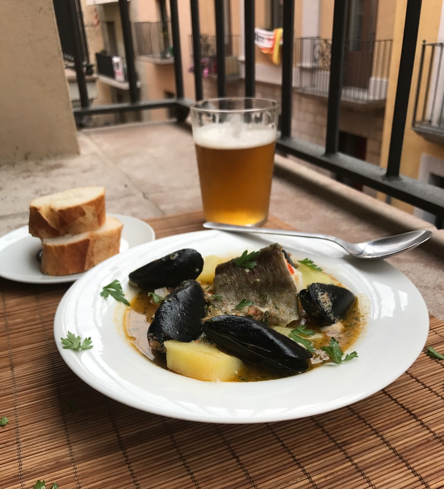 Suquet de Peix,  Catalan Fisherman's Stew