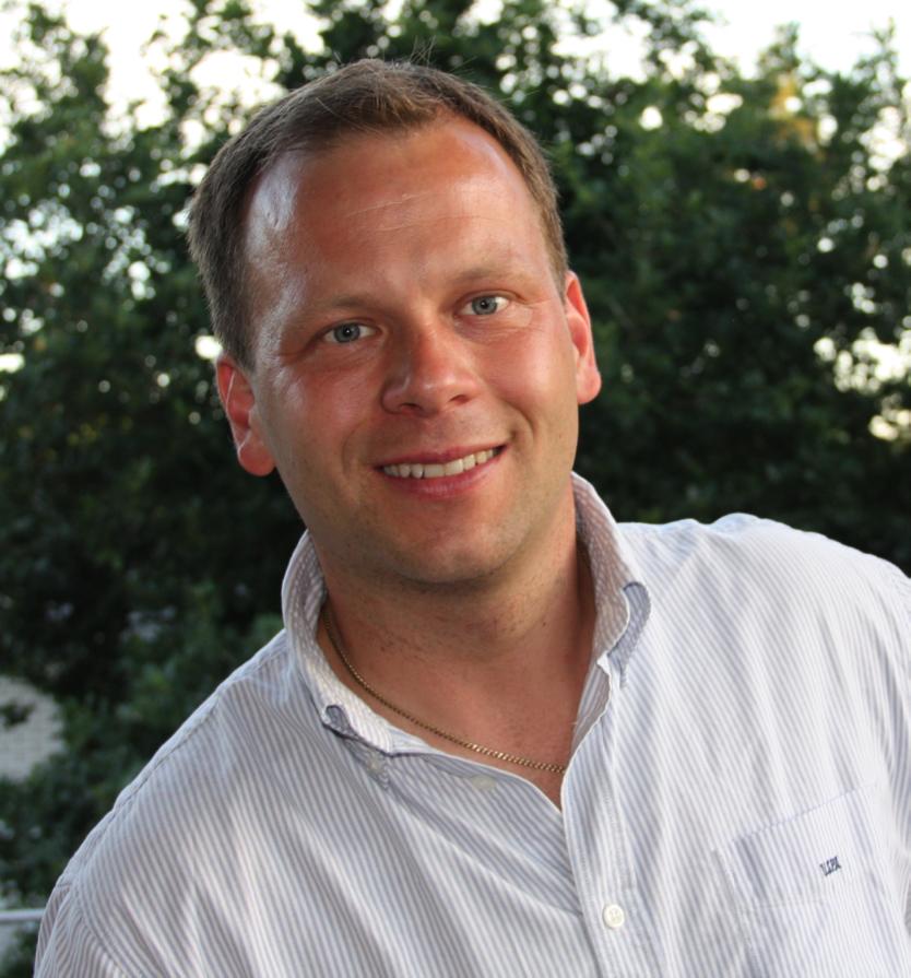 Patrik Almström ide skaparen och projektledaren till Full -body running analysis.