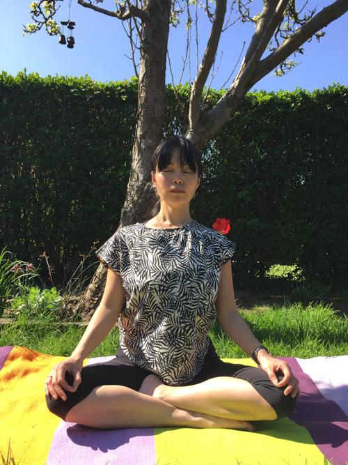 Naomi Hayama Meditation Under a Tree in Bristol
