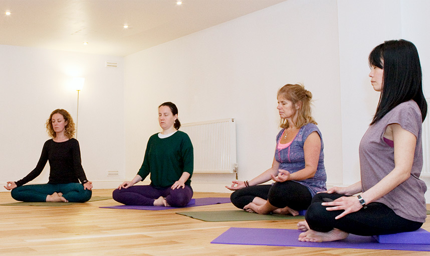British Wheel of Yoga Foundation Course Students taught in Bristol by Naomi Hayama