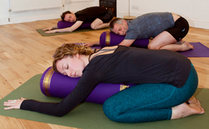Restorative yoga workshop with Naomi at the Bristol Yoga Centre