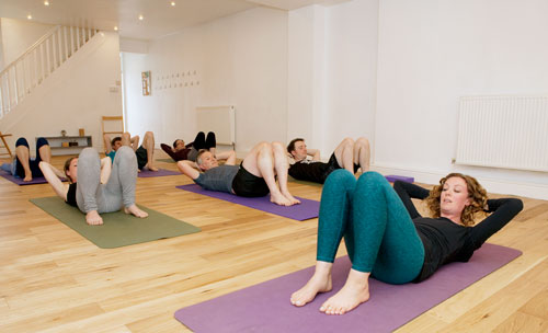 Pilates Fundamentals workshop for beginners at the Bristol Yoga Centre 2018