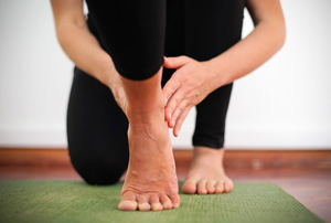 Therapeutic Yoga class with Josie at the Bristol Yoga Centre on Tuesday morning.