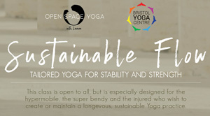 Sustainable Flow Yoga class with Leonora