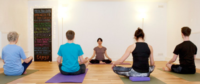Community Mindfulness Meditation class at the Bristol Yoga Centre
