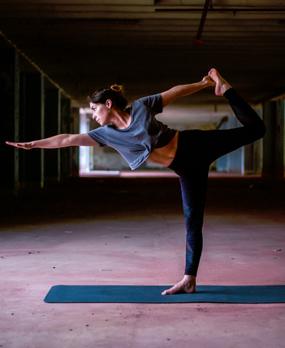 Shuna Griffin at the Bristol Yoga Centre. She teaches Vinyasa Flow, Hatha Flow on Wednesday, Thursday and Saturday