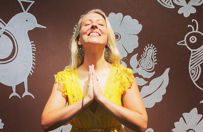 New Vinyasa Flow Yoga Teacher, Amanda at the Bristol Yoga Centre