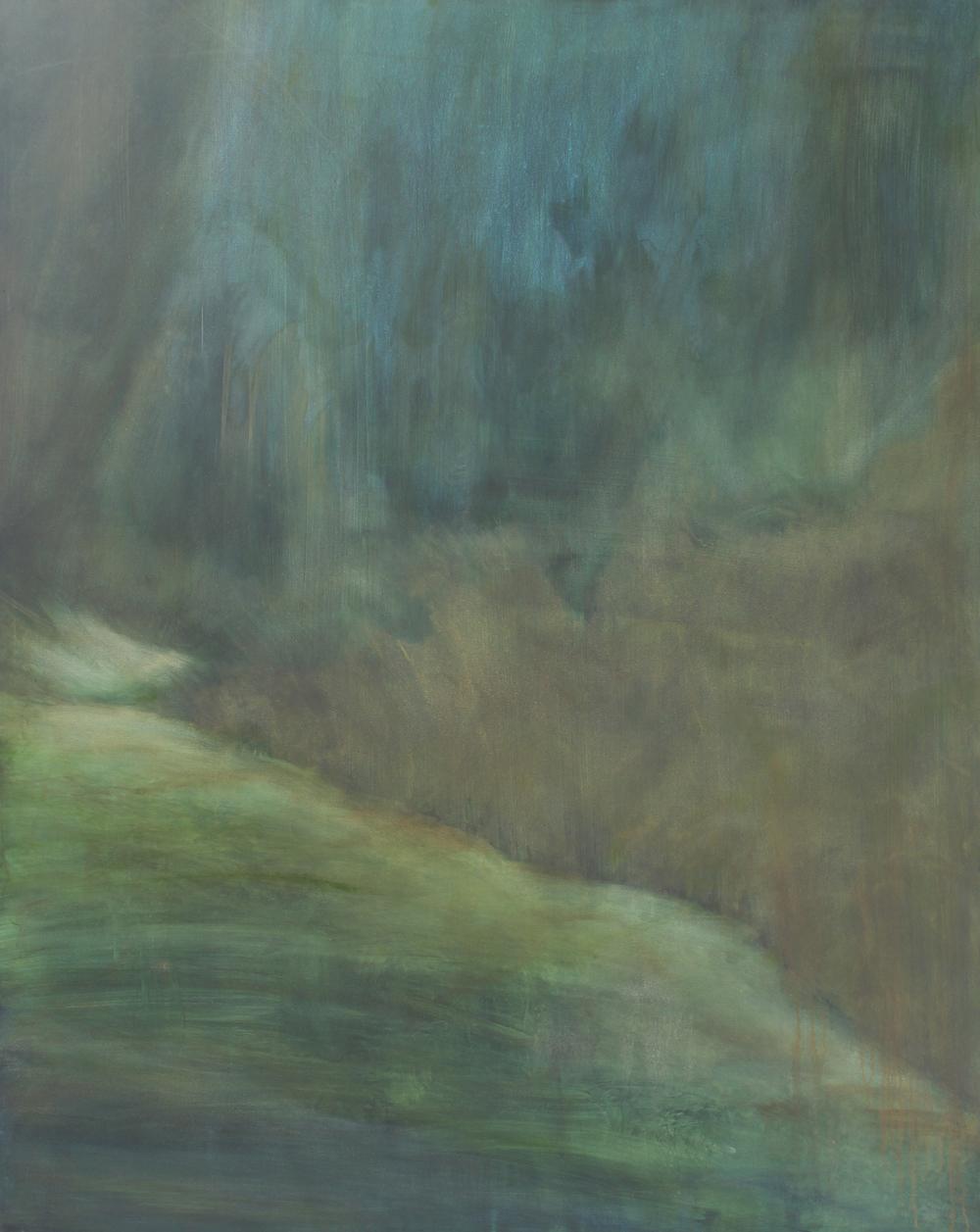 Hightail, 2015, oil on canvas, 150 x 120cm