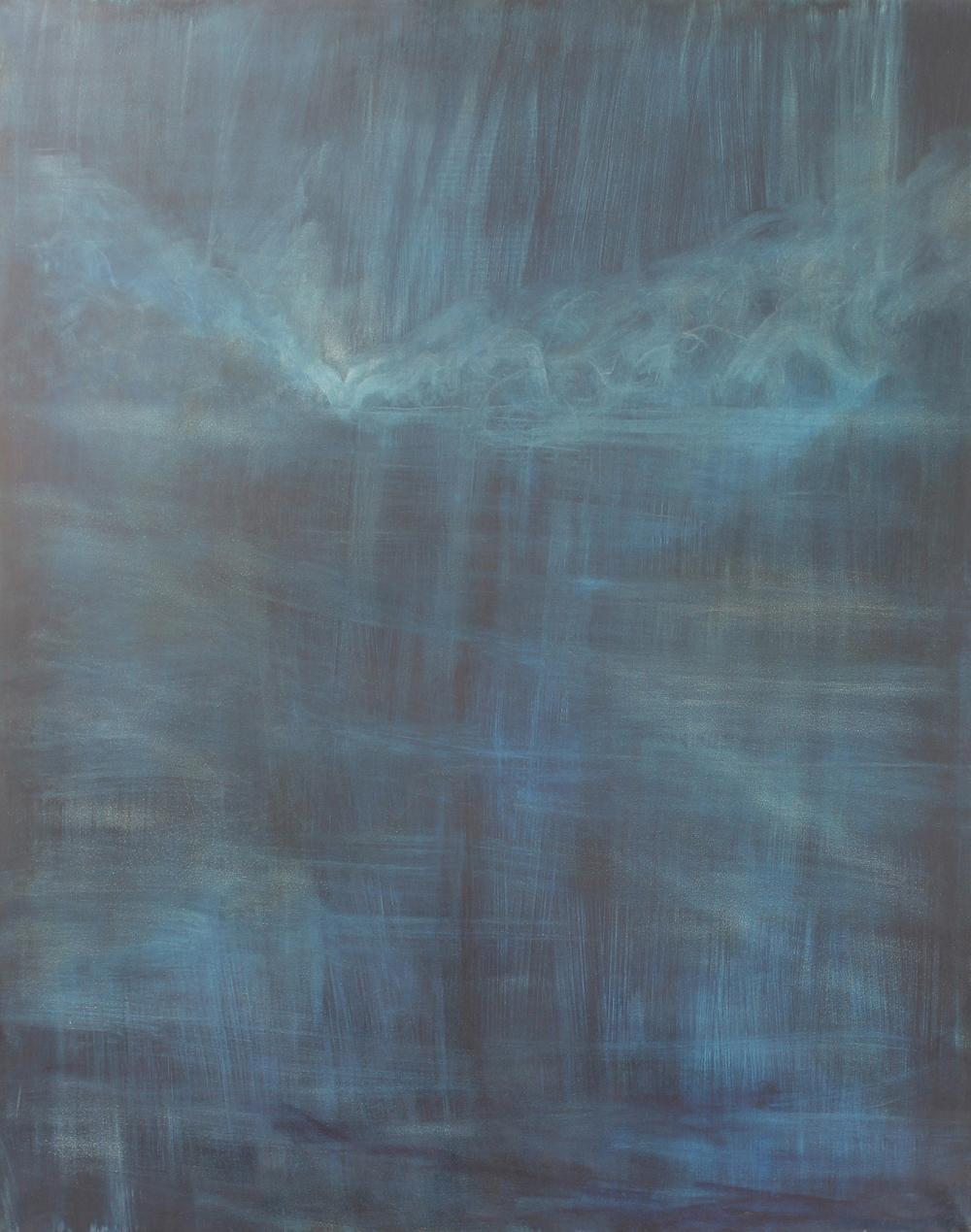 Sleepwalker, 2014, oil on canvas, 150 x 120cm