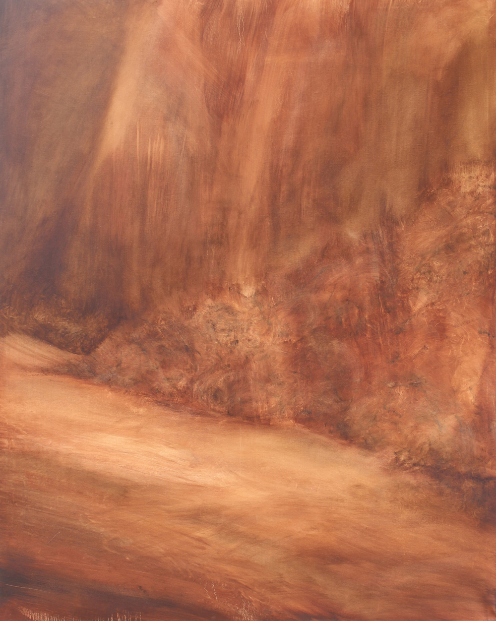 Torched, 2014, oil on canvas, 150 x 120cm