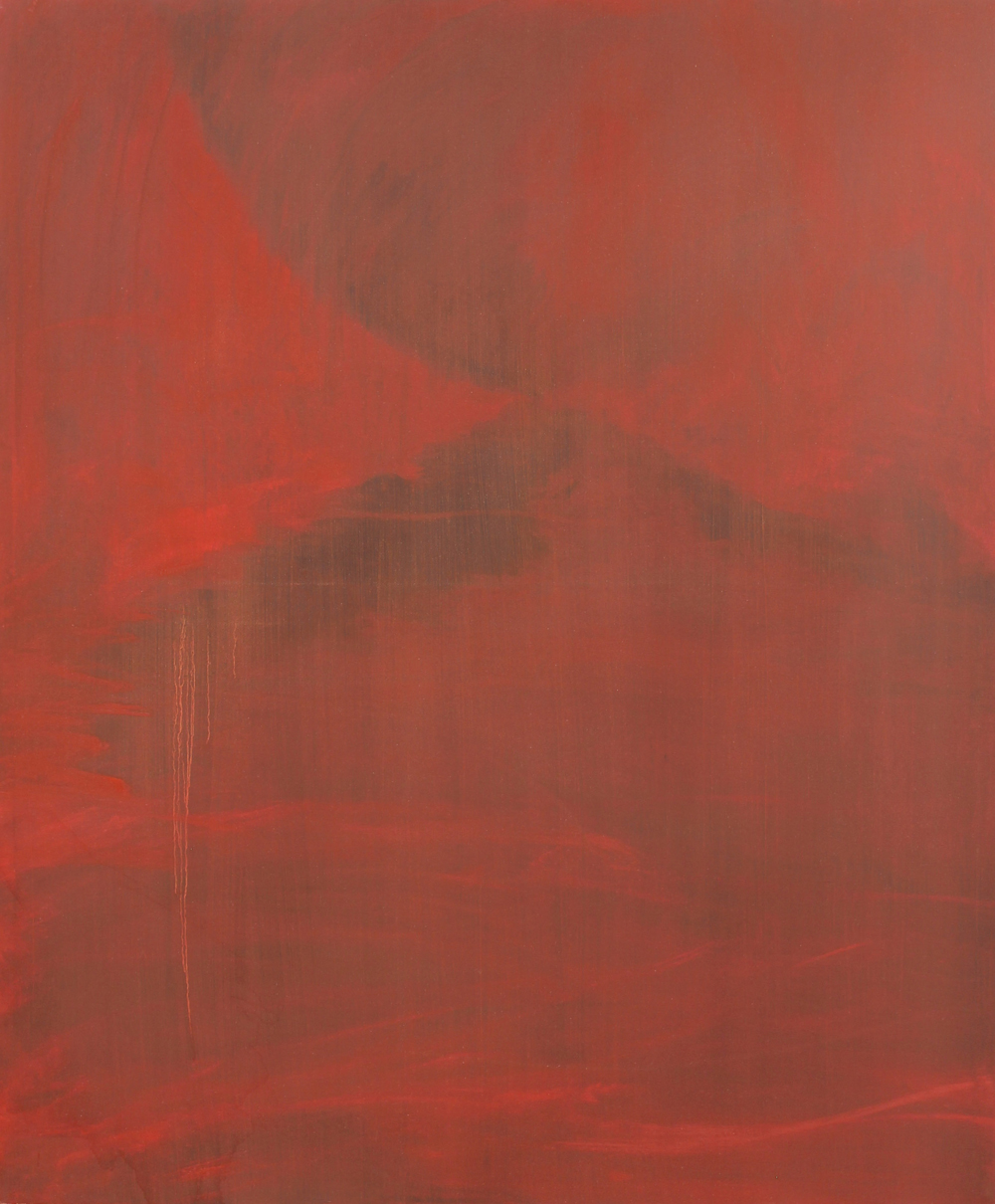 Gorge, 2015, oil on canvas, 120 x 100cm